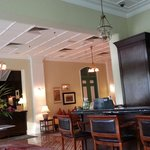 Lobby where high tea is served.