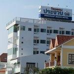 Prachuap Beach Hotel from the main street