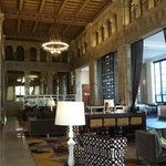 Gorgeous lobby, formerly a 1927 bank building!