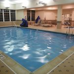 Pool and spa is nice and relaxing