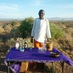 Sundowners on Turkana Hill
