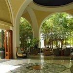 Lobby and indoor Bamboo Garden