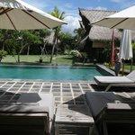 Flower Bud Bungalows - Uluwatu Bali Indonesia - Balangan Beach - pool