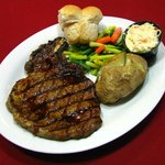 12oz Rib Eye Steak Dinner
