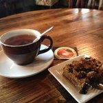 Tea and dessert