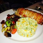 Hickory Smoked Bacon Stuffed Trout