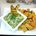 Our made in house Spinach Artichoke Dip