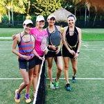 Tennis in Cozumel