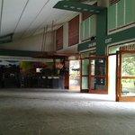 lobby da estação