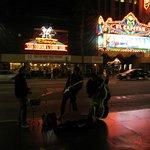 Nightlife on Hollywood blvd