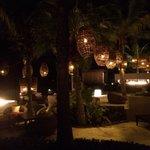 Vista do lounge do bar