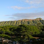 Diamond Head view from our room.