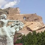Crazy Horse Memorial located 4 miles from the Bavarian Inn