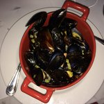 Mussels at Brasserie