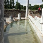 Vestiges des thermes romaines