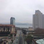 View from breakfast on the 9th floor