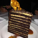 20 layer chocolate & peanut butter cake
