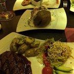Perfektes Abendessen