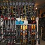 La location de ski (compris dans le prix du séjour)