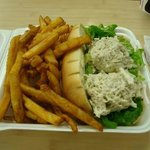 Crab Sandwich - Fresh Catch (quick service) Restaurant, Kaneohe, Hawaii