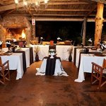 Intimate weddings can be hosted at Ukhozi Lodge