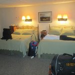 Historic Taos Inn - very comfortable