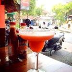 Tasty Strawberry Margarita at Taco Casa
