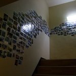 Las escaleras hasta la cuarta planta.