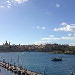 Odadan Valleta merkez görünümü