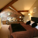 Large Attic Bedroom with seating area