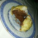 gelato fritto al cioccolato