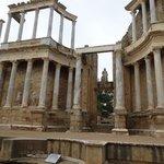 La magnitud de las edificaciones romanas.