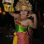 A Balinese night with dancers and meal