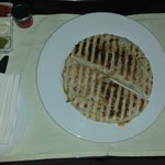 Quesadillas-room service