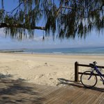 Noosa beach, three minutes' from the Sheraton