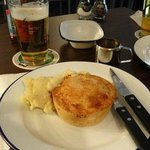 my pie with mash