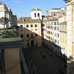 the Piazza di Pietra from the terrace