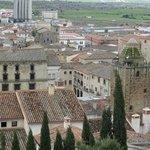 El pueblo desde el castillo
