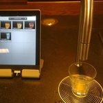 High tech juice dispenser