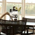 Klitrosens gormet restaurant med lækker møbler i dansk design