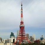 ベランダからの東京タワー