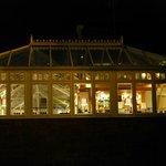 Conservatory at night