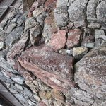 カラフルな石垣