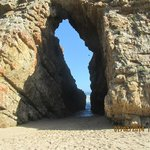 The arch rock - from whence the AR derives its name