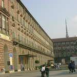 the right side of Palazzo Reale