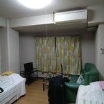 Más que un apartamento, una habitación con algún electrodoméstico.