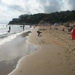 plaża tuż przy hotelu Playa Park