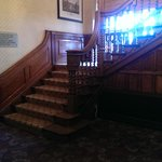 Staircase in the main house