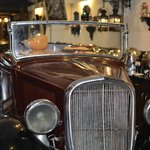 vintage car buffet