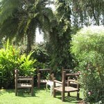 A place to relax and unwind at any time of the day. the lounge adjoins the beautiful garden with